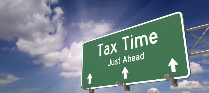 Tax filing due date 2 weeks away